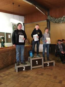 1. Platz BB/JB U18 Jannik
